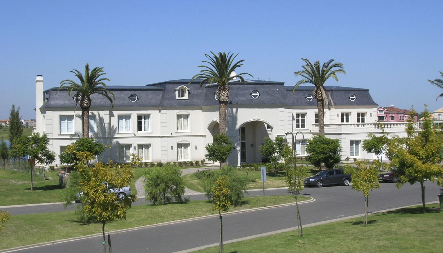 casas neoclásica francesas, mansiones