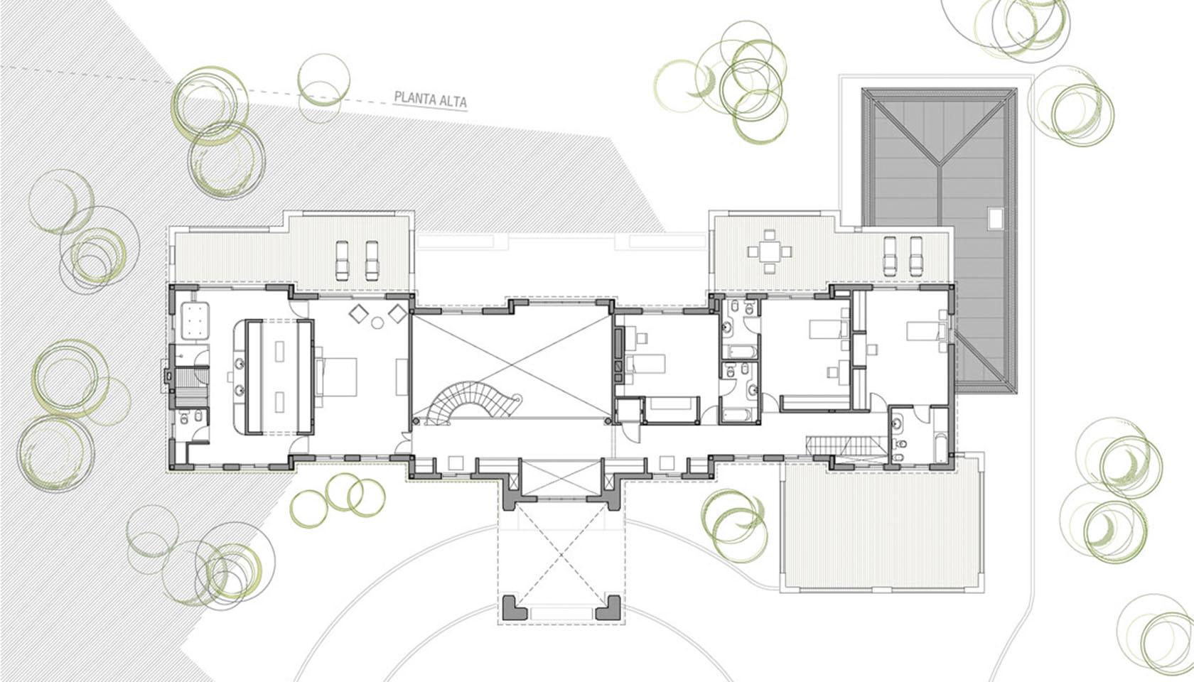 arquitectura neoclásica francesa, casas lujosas