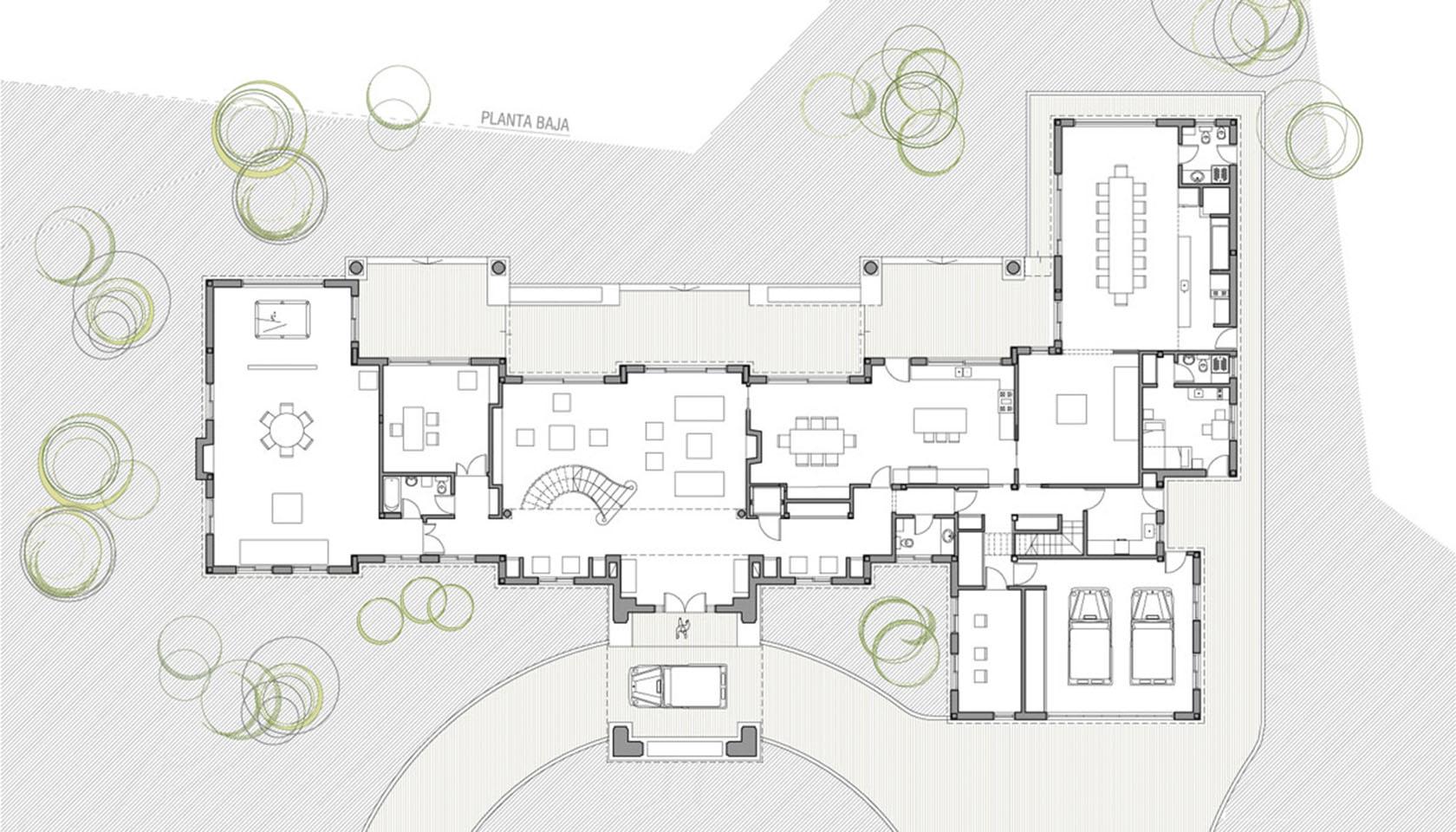 casas neoclásicas, mansiones