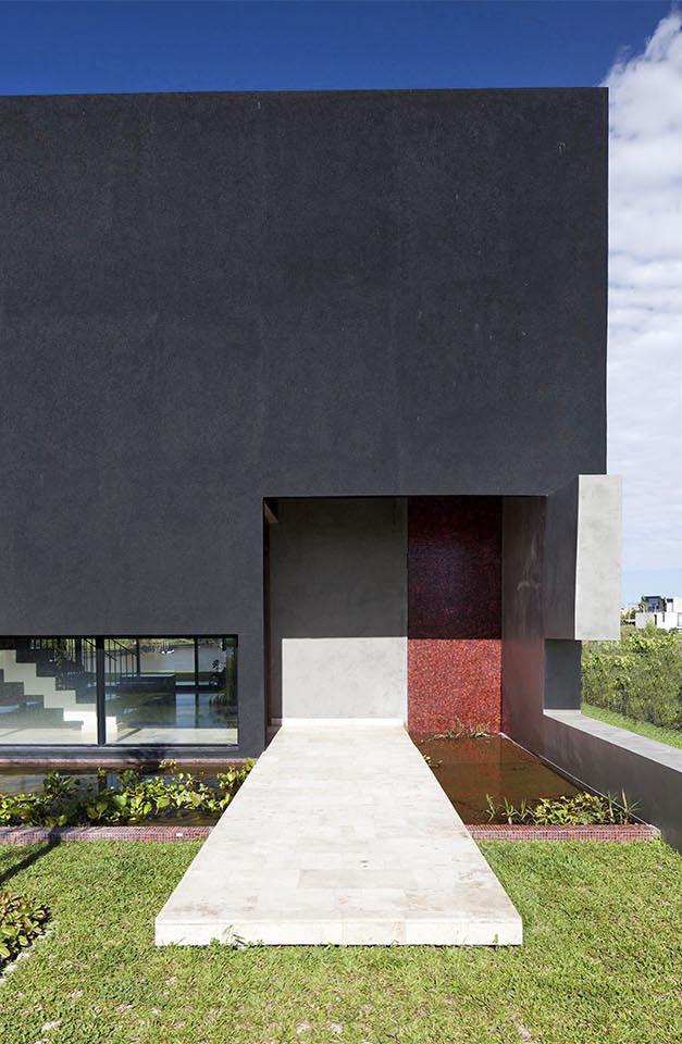 diseño de fachadas, fachadas moderna, proporción aurea en casas