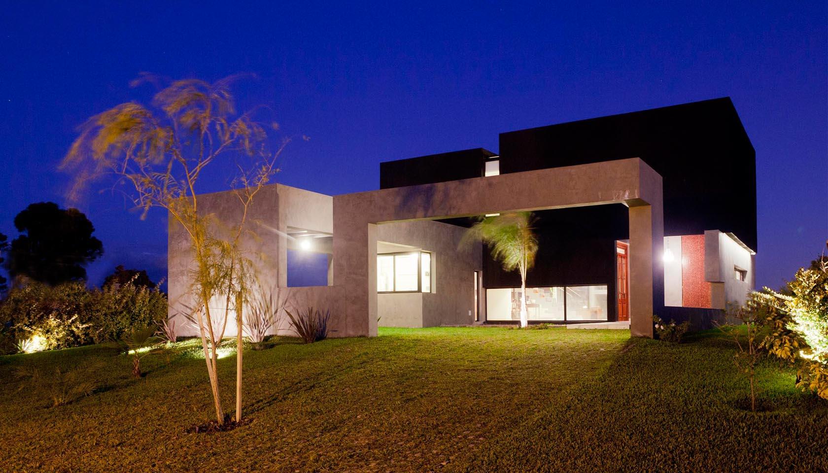 casas con grandes jardines, casas mágicas, patios interiores