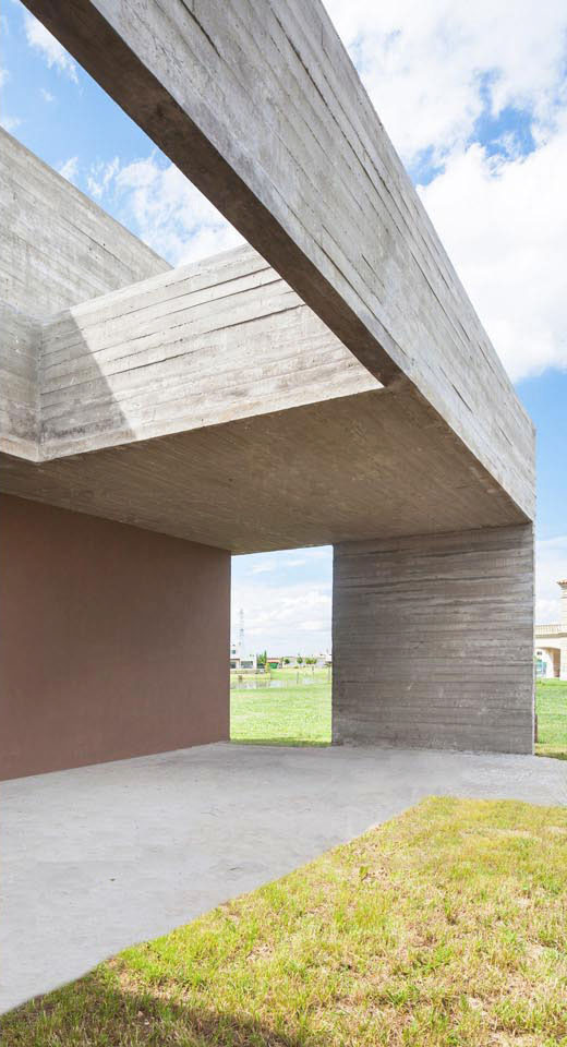 galerías minimalistas, casas minimalistas