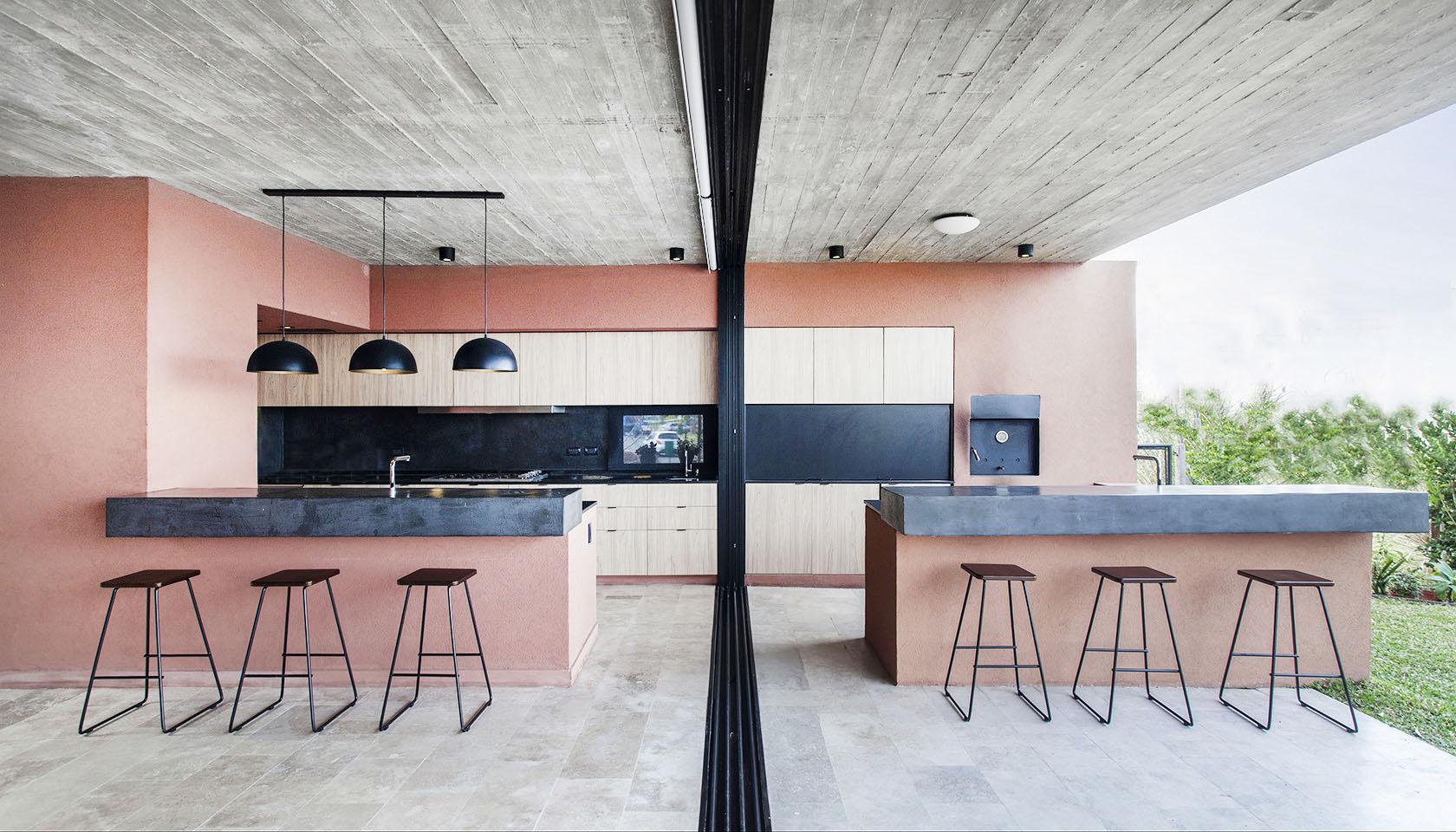 grandes aberturas en casas, integración de paisaje a la vivienda