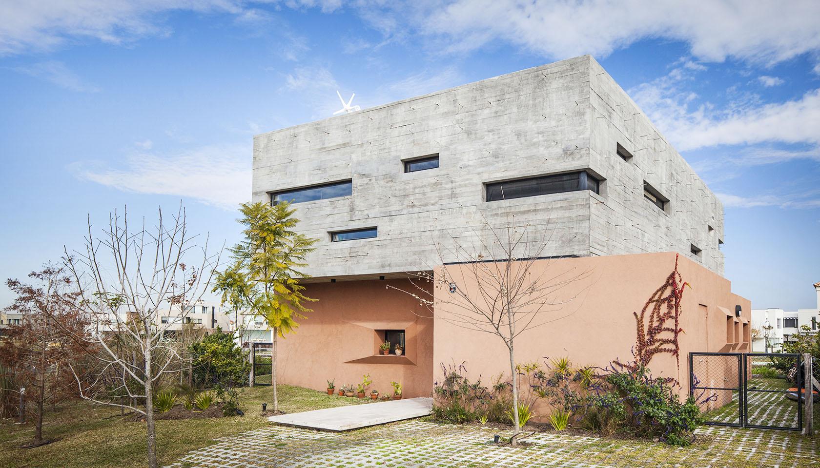casas contemporáneas, ventanas horizontales