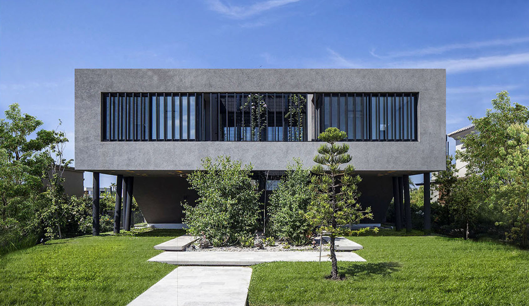 arquitectura moderna, casas contemporáneas,