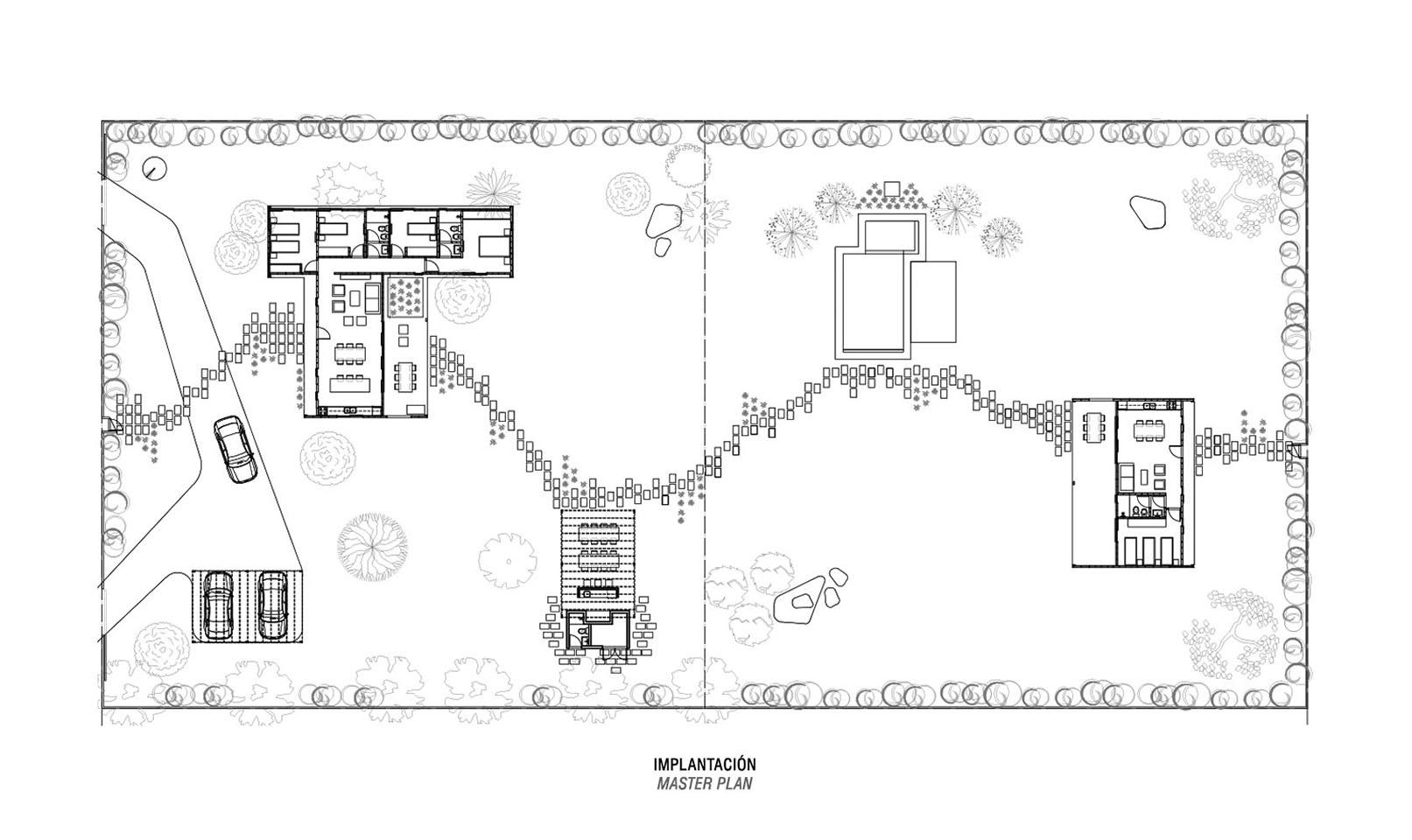 Estrategias de diseño en casas con grandes terrenos