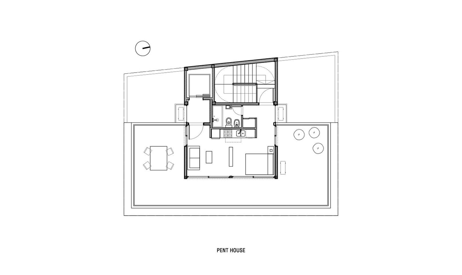 Pent house moderno en buenos aires