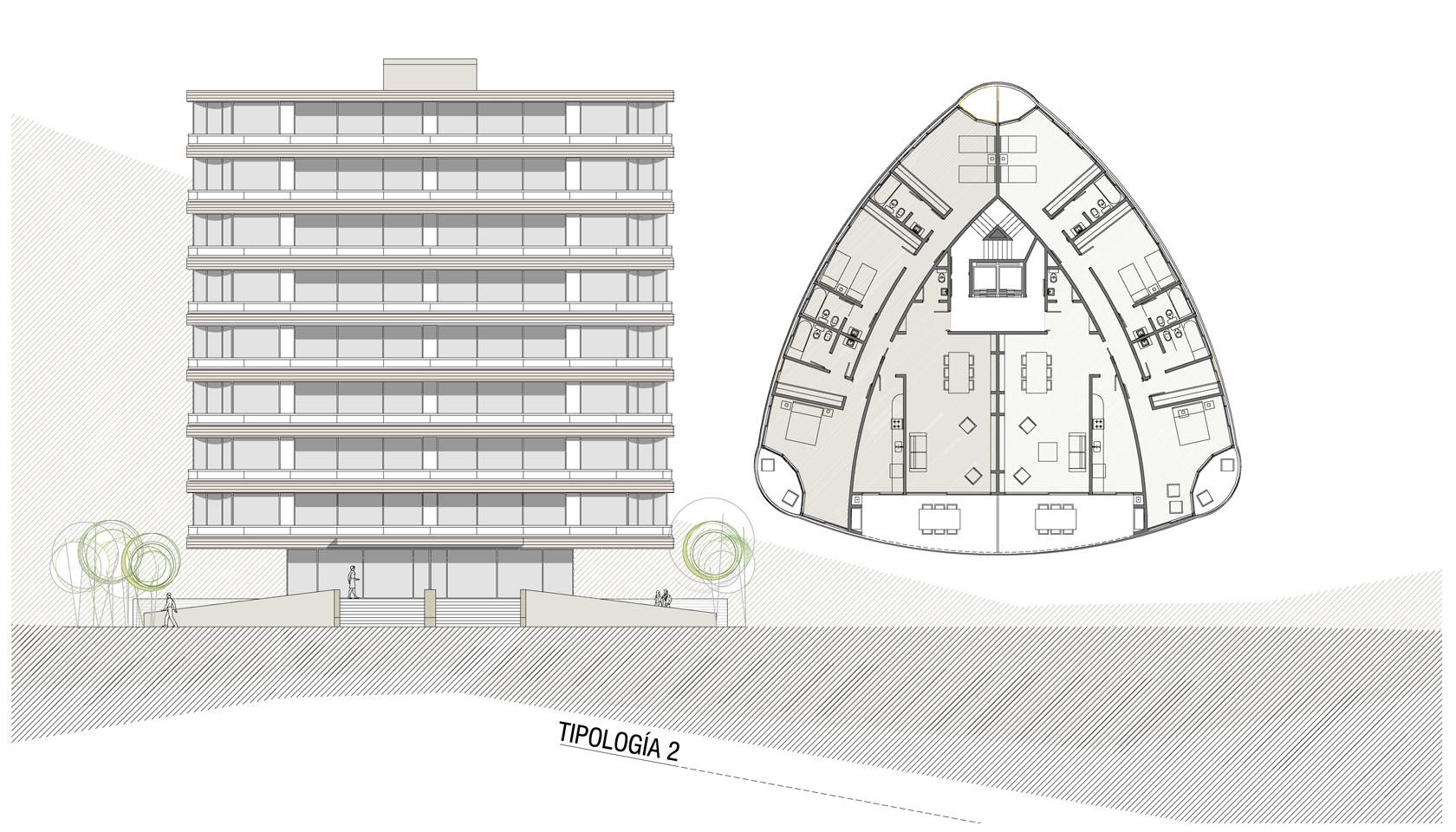 Diseño de edificios de vivienda