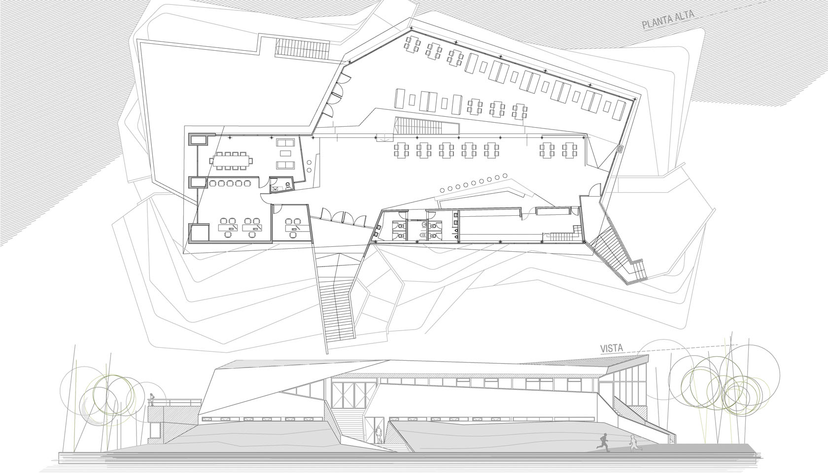 Pliegues arquitectónicos
