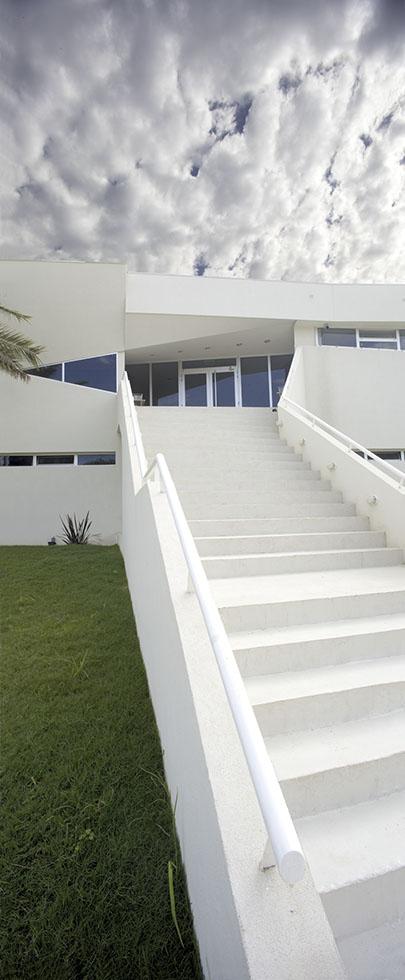 Escaleras modernas, composición de planos, canchas de futbol, Buenos Aires futbol