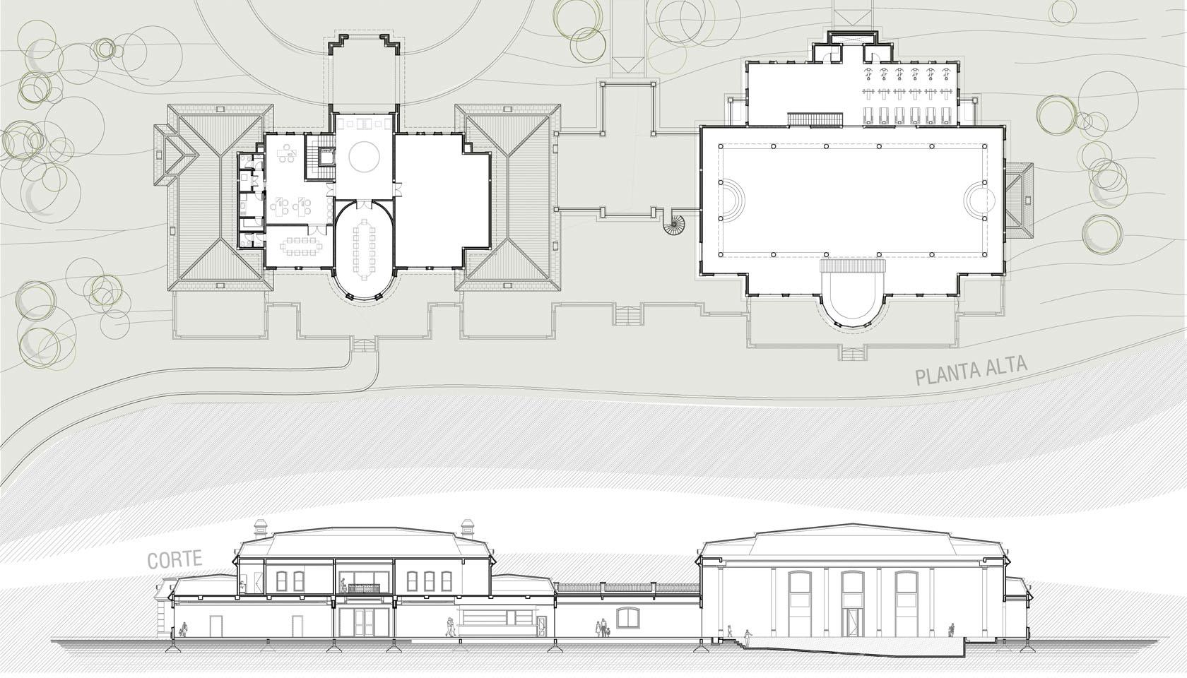 Arquitectura neoclásica francesa, diseño de grandes edificios neoclásicos.