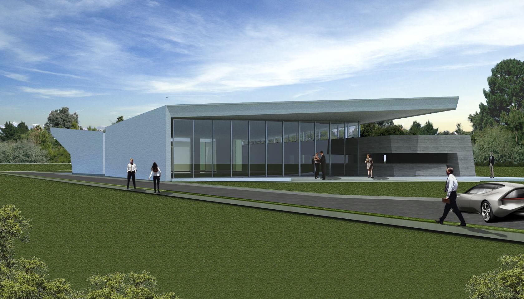 Arquitectura contemporánea, diseño de cubiertas modernas, fachadas de hormigón a la avista