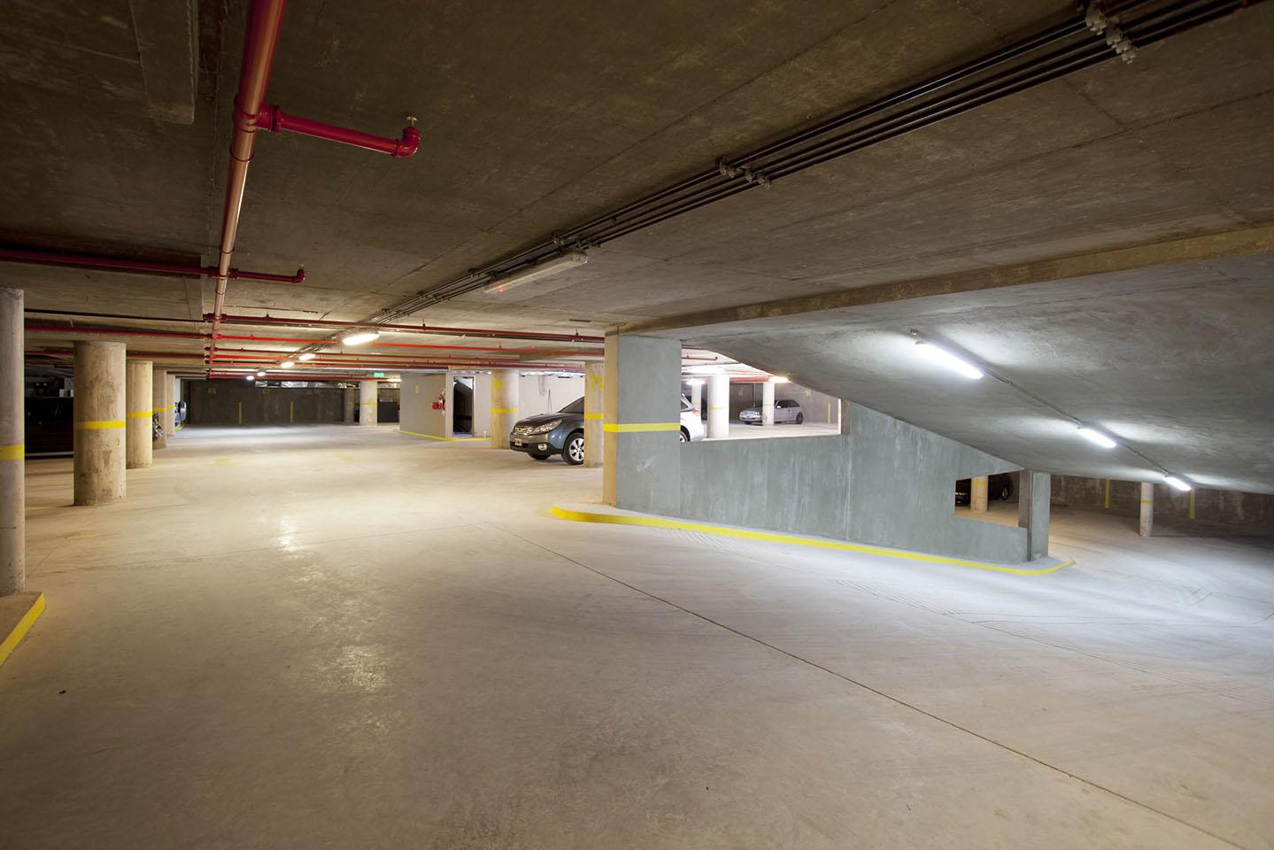 Subsuelos en edificios de oficinas