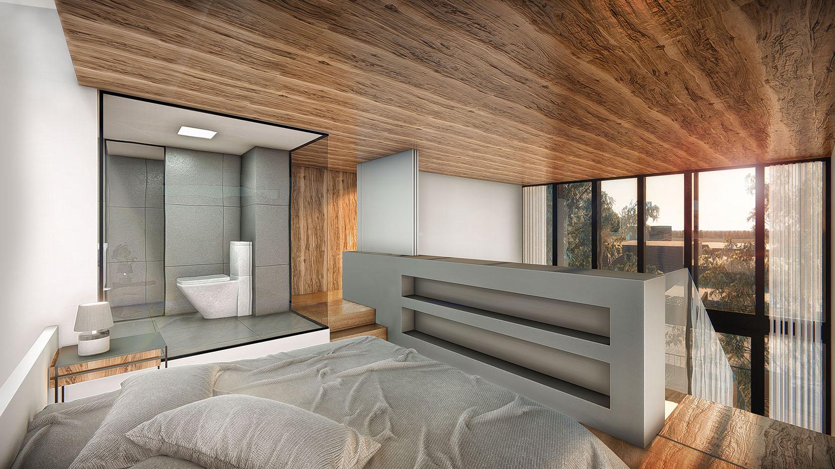 Vista interior dormitorio