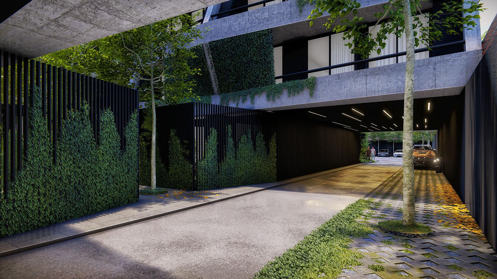 vista patio interno