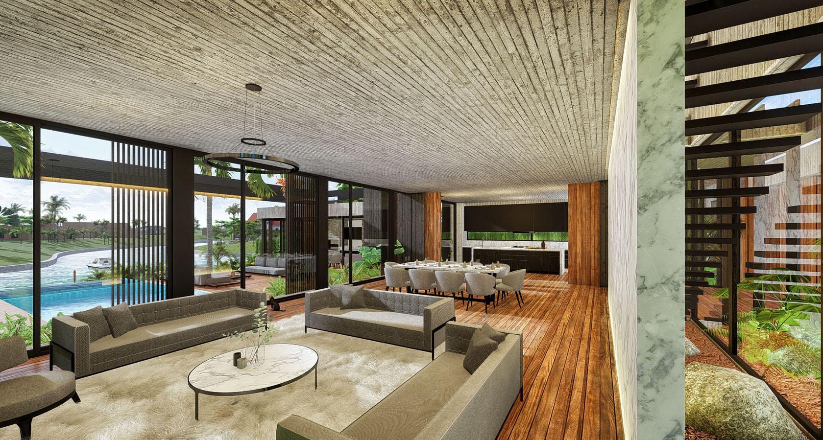 vista interior living