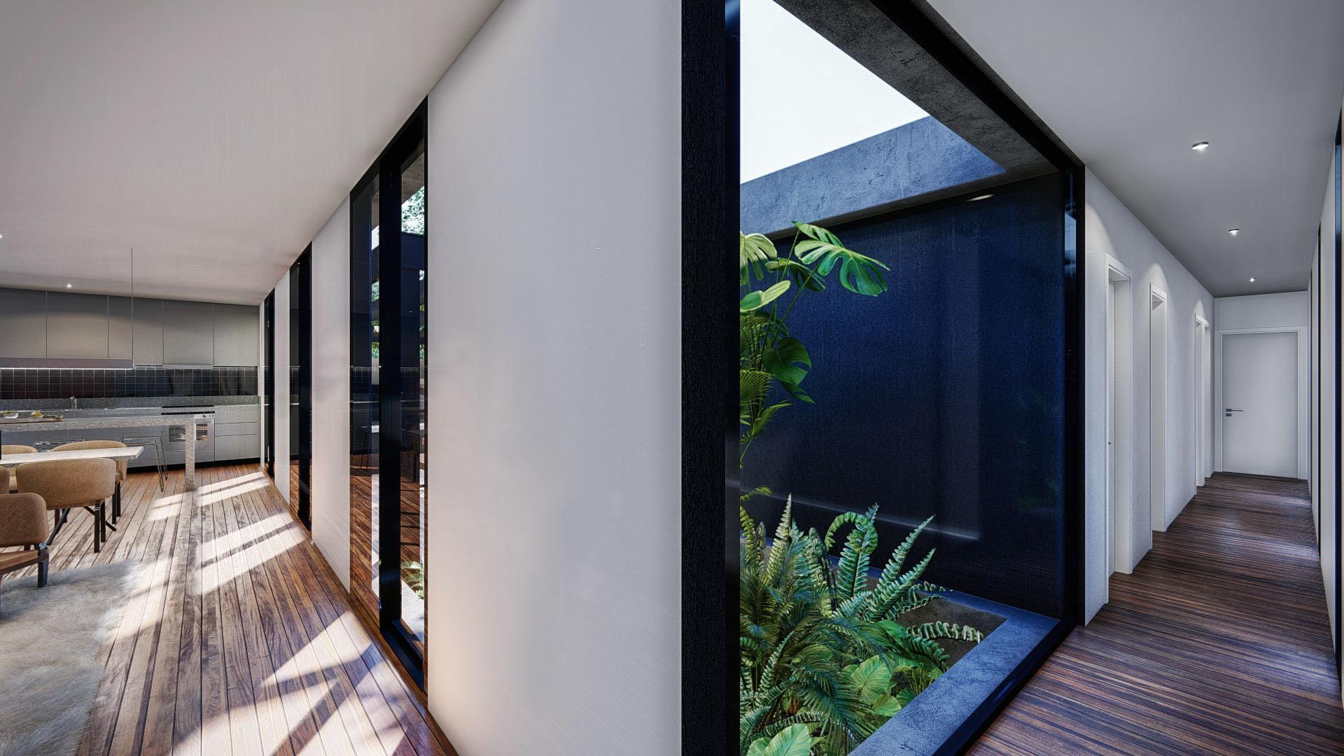 Vista interior patio